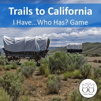 Trails to California: I Have Who Has?Game Reviews Famous P