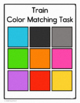 Train Colors Matching Folder Game for Early Childhood Spec