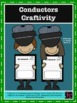 Train Conductor Craft, Writing, and Hat Combo Pack