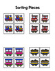 Train Sort by Picture File Folder Game for Early Childhood