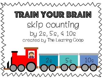 Train Your Brain SKIP COUNTING