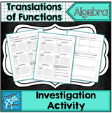 Tranlsations of Functions Investigation