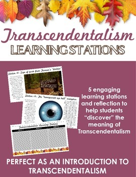 Transcendentalism Learning Stations -- Perfect as an intro