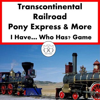 Transcontinental Railroad , Pony Express and More! I Have.