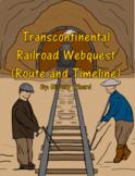 Transcontinental Railroad Webquest (2 Great Lesson Plans)