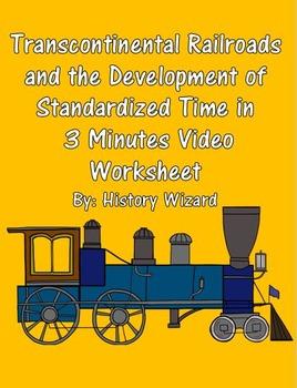 Transcontinental Railroads and the Development of Standard