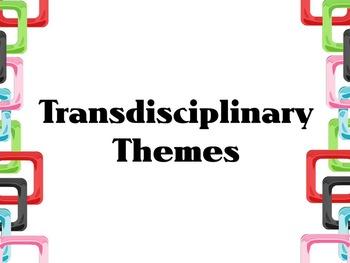 Transdisciplinary Theme- PE, Colored Squares IB PYP