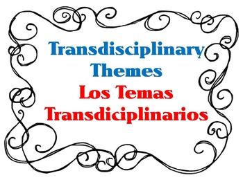 Transdisciplinary Themes- Bilingual IB PYP