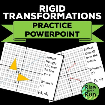 Transformation Practice Powerpoint - Translate and Reflect