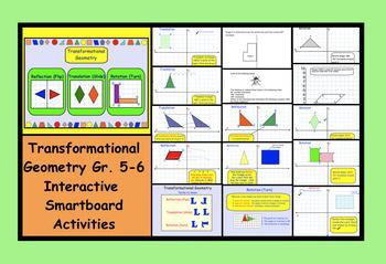 Transformational Geometry Gr. 5-6 Interactive SMARTboard A