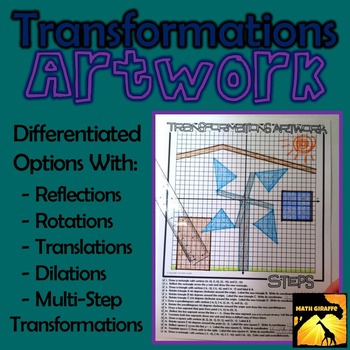 Transformations Artwork - Rotations, Reflections, Translat