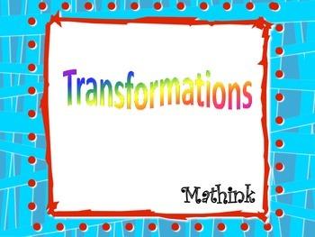 Transformations Bundle (dilations, reflections, rotations,