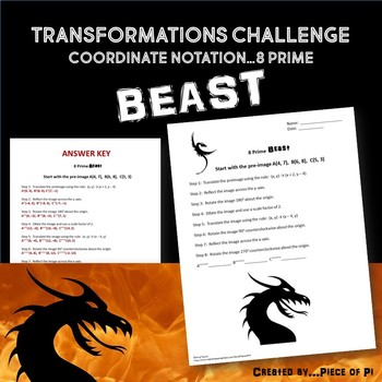 Transformations Challenge Activity