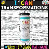 8th Grade Transformations Game - 8th Grade Math Game
