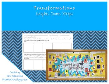 Transformations Graphic Comic Strips FREEBIE