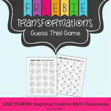 Transformations Guess This! Game {Translation, Reflection,