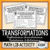 Transformations Math Lib