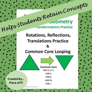 Transformations Rotations Reflections Translations Spirali