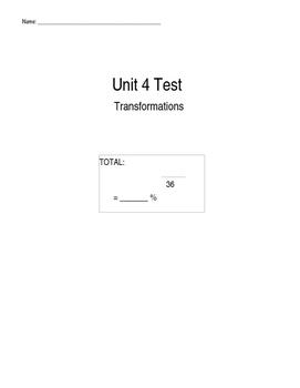 Transformations Unit Test
