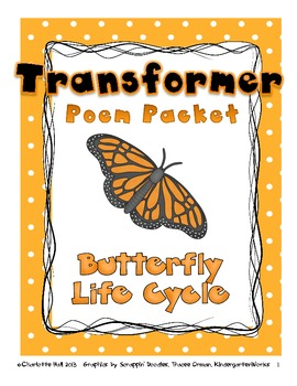 Transformer: Butterfly Life Cycle Poem and Activities