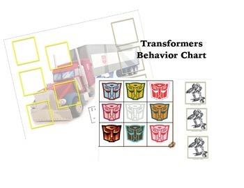 Transformers Behavior Chart