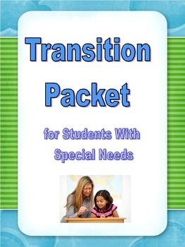 Special Ed Transition Packet; Differentiated Interest Inve