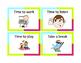Transition Task Cards (12 basic cards)