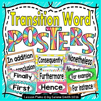 Transition Word Posters