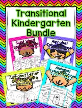 Transitional Kindergarten/ TK Bundle Pack by Kinder League