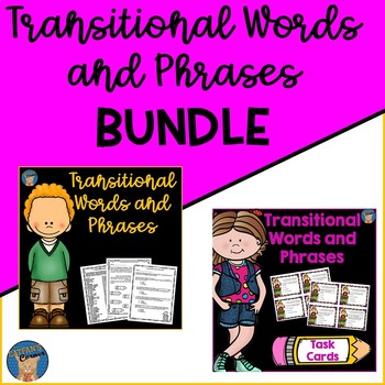 Transitional Words and Phrases BUNDLE