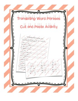 Translating Word Phrases
