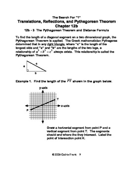 Translations, Reflections, and Pythagorean Theorem