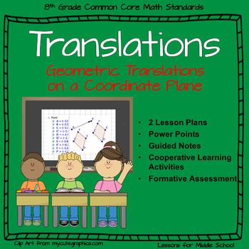 Translations - Transformation in 8th Grade Geometry