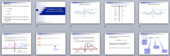 Translations of Sine and Cosine Functions - PowerPoint, No