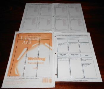 Writing Lessons GRADE 1 Transparencies by McGraw-Hill Lang