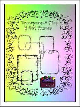 Transparent Wire & Dot Frames Clipart (Embellish Yourself