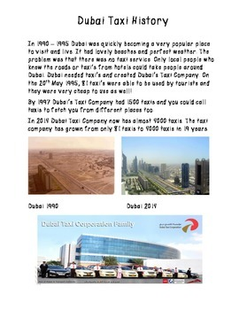 Transport Then and Now Dubai