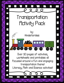 Transportation Activity Pack