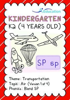 Transportation - Air (I): Blend SP - K2 (4 years old)
