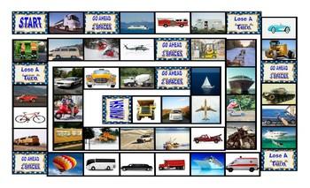 Transportation Board Game