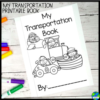 Transportation Book for Expository Writing