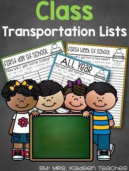 Transportation Class Lists-Free