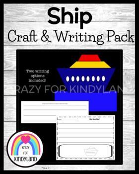 Transportation Craft and Writing: Ship