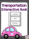 Transportation Flip Flap Book
