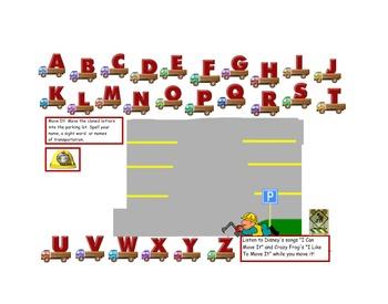Interactive Transportation Fun!