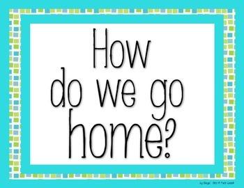 Transportation How We Go Home