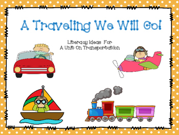 Transportation Literacy Unit Ideas