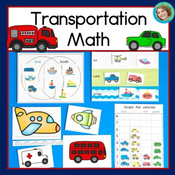Transportation Math (Graphing, Sorting, Venn Diagrams and