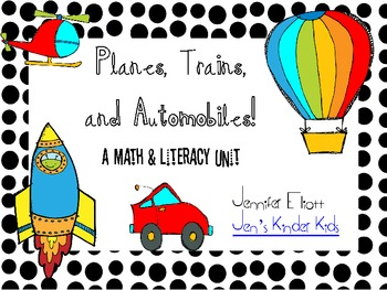 Transportation Math & Literacy Unit