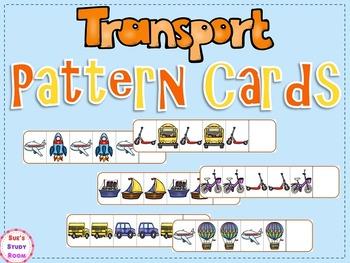 Transportation Pattern Cards